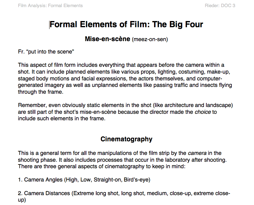 film form essay This is the movie essay we need right now  the future of movies, but what i  know is that movies, as an art form, will keep changing, and that.